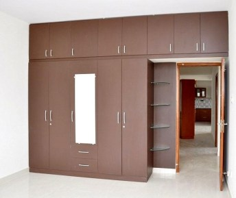Elegant Wardrobe Design Ideas For Your Small Bedroom 28