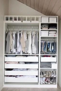 Elegant Wardrobe Design Ideas For Your Small Bedroom 36