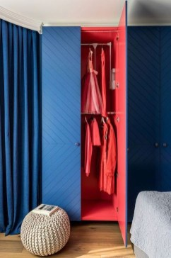 Elegant Wardrobe Design Ideas For Your Small Bedroom 46
