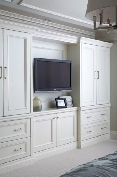 Elegant Wardrobe Design Ideas For Your Small Bedroom 50