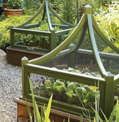Extraordinary Vegetables Garden Ideas For Backyard 14