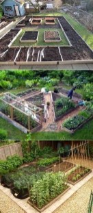 Extraordinary Vegetables Garden Ideas For Backyard 36