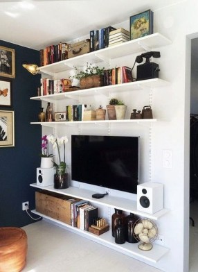 Genius DIY Floating Shelves Ideas For Home Decoration 08
