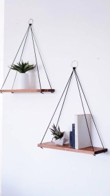 Genius DIY Floating Shelves Ideas For Home Decoration 40