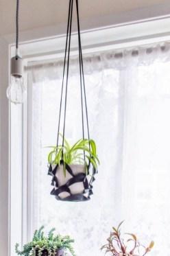 Inspiring DIY Vertical Plant Hanger Ideas For Your Home 34