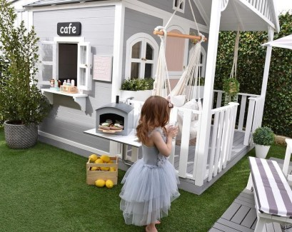 Marvelous Outdoor Playhouses Ideas To Live Childhood Adventures 02