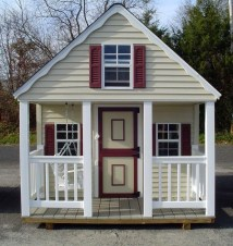 Marvelous Outdoor Playhouses Ideas To Live Childhood Adventures 09