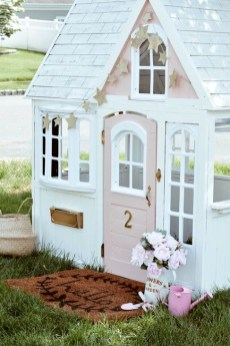 Marvelous Outdoor Playhouses Ideas To Live Childhood Adventures 25