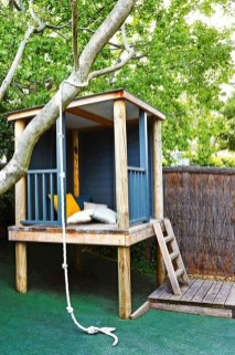 Marvelous Outdoor Playhouses Ideas To Live Childhood Adventures 45