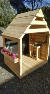 Marvelous Outdoor Playhouses Ideas To Live Childhood Adventures 47