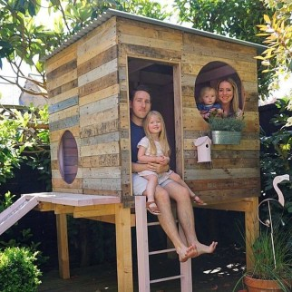 Marvelous Outdoor Playhouses Ideas To Live Childhood Adventures 59
