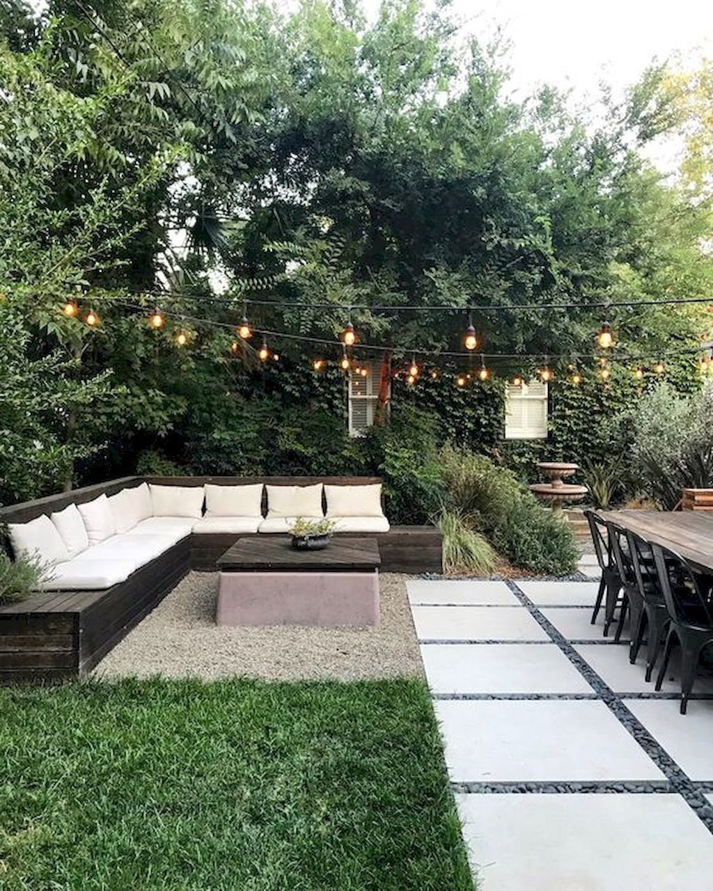 Awesome Backyard Seating Ideas For Best Inspiration 32