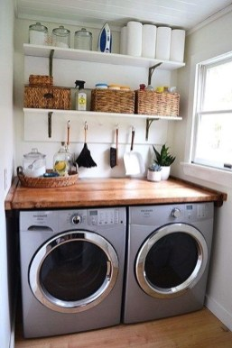 Perfect Functional Laundry Room Decoration Ideas For Low Budget 06