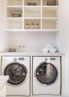 Perfect Functional Laundry Room Decoration Ideas For Low Budget 23