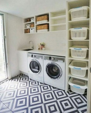 Perfect Functional Laundry Room Decoration Ideas For Low Budget 44