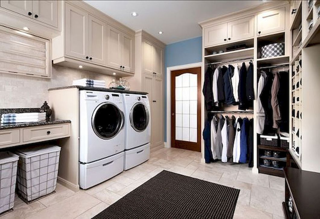Perfect Functional Laundry Room Decoration Ideas For Low Budget 45