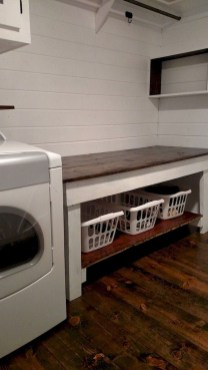 Perfect Functional Laundry Room Decoration Ideas For Low Budget 48