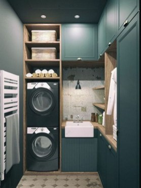 Perfect Functional Laundry Room Decoration Ideas For Low Budget 49