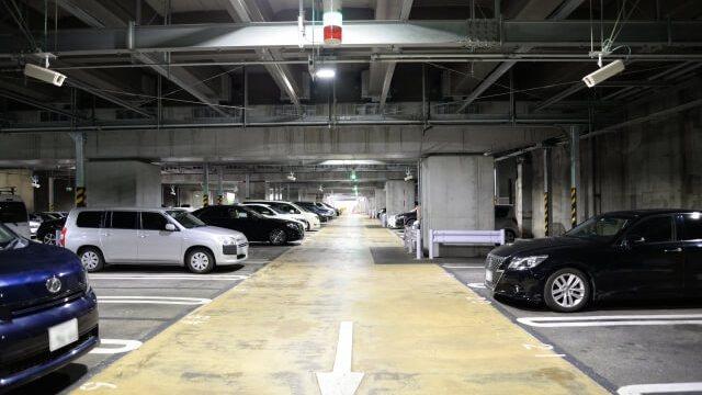 地下駐車場のイメージ写真