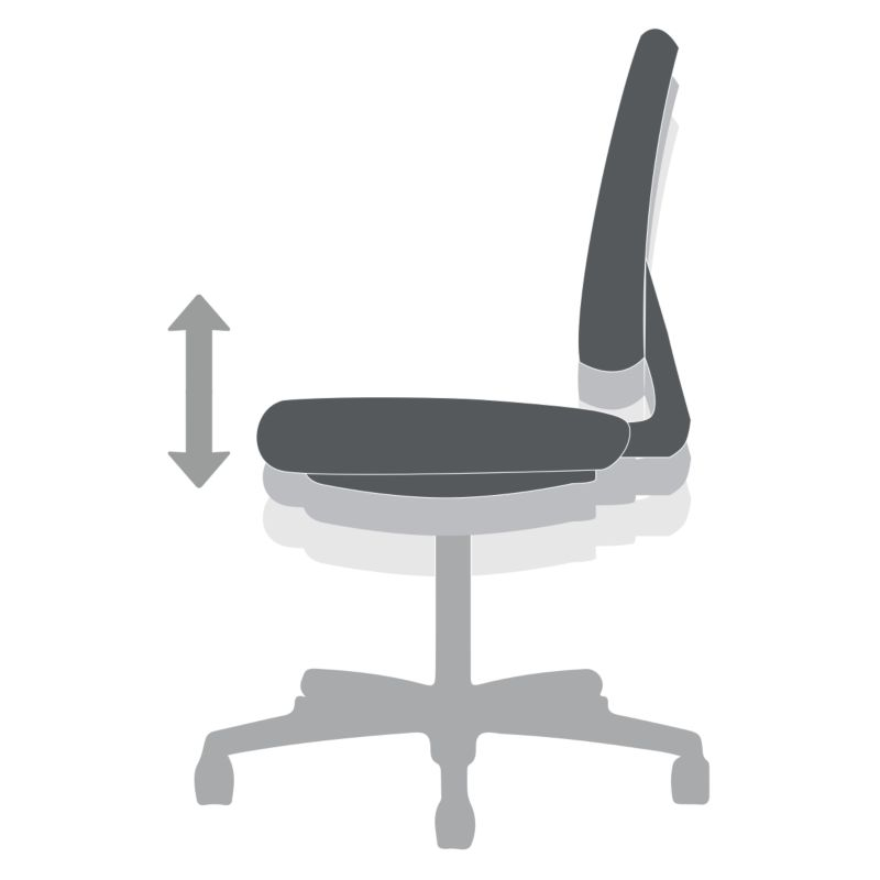 swivel chair operations used leather club chairs for sale functions hon office furniture pneumatic seat height adjustment