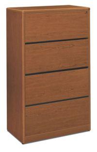 Hon 94000 Series 2 Drawer Mahogany Lateral File Cabinet ...