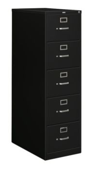 Hon 5 Drawer Vertical File Cabinet With Lock 315 ...
