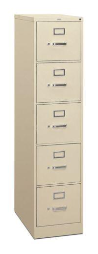 310 Series 5-Drawer Vertical File H315 | HON Office Furniture
