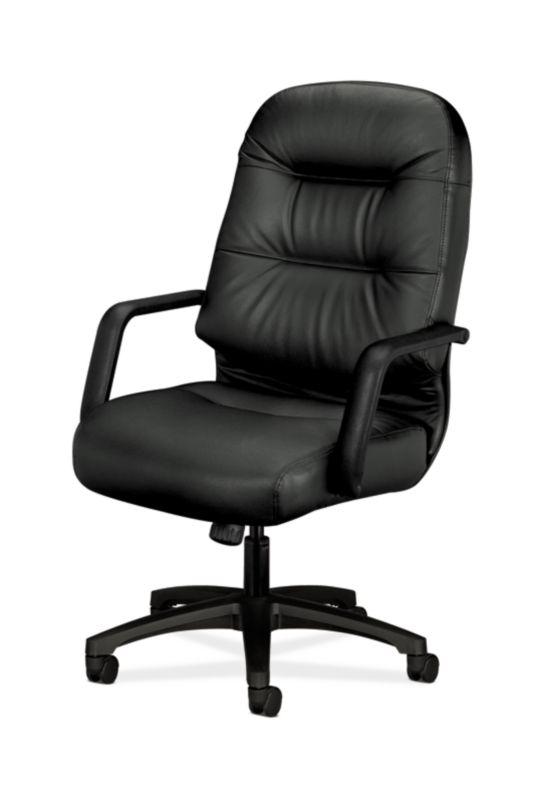 memory foam desk chair cushion stool room pillow-soft executive high-back h2091 | hon office furniture