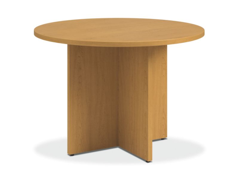 conference tables and chairs oak dining hon office furniture preside round table with x base harvest htld42xpn