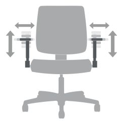 Office Chair Adjustment Levers Exercises For Legs Functions Hon Furniture Height And Width Adjustable Arms