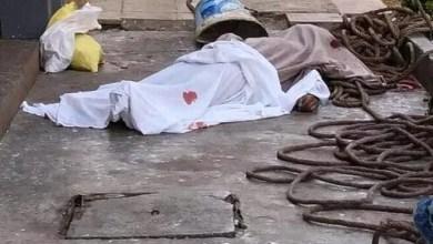 صورة سلا الجديدة :  وفاة عامل صباغة بسبب السقوط من اعلى واجهة عمارة سكنية