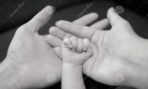 http://www.dreamstime.com/royalty-free-stock-photography-hands-father-mother-newborn-baby-family-concept-parents-holding-palms-child-s-hand-image43891157