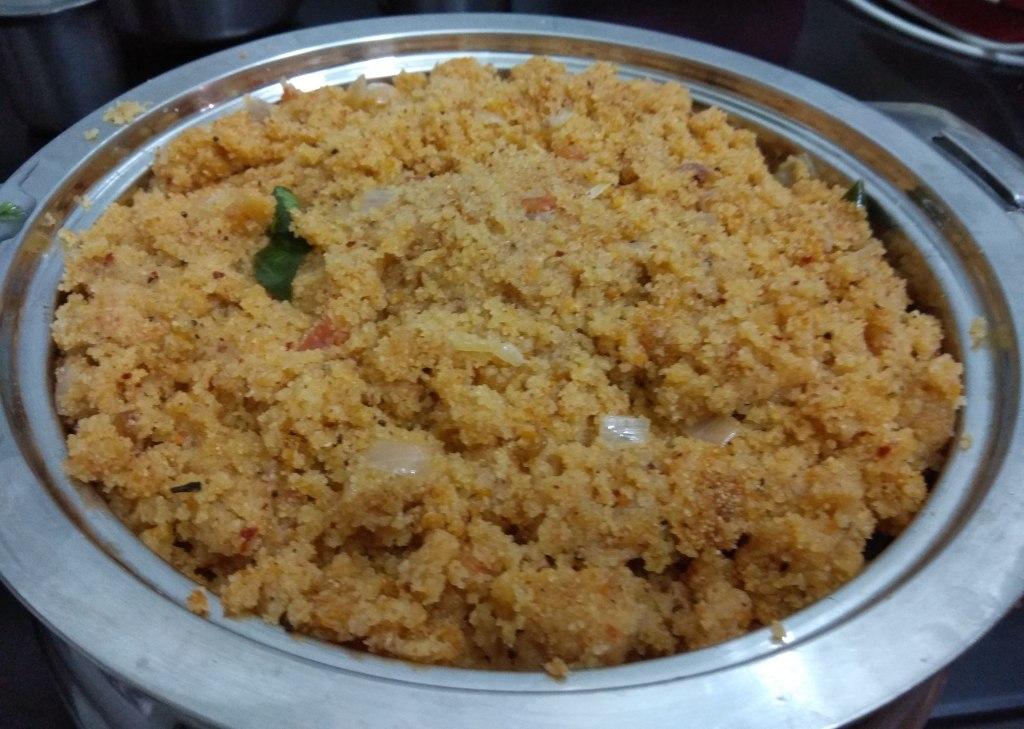 ಕಾರಾಬಾತ್, ಉಪ್ಪಿಟ್ಟು, Kharabath, Uppittu