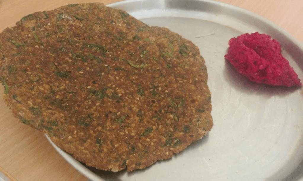 ರಾಗಿ-ಪಾಲಕ್ ತಾಲಿಪೆಟ್ಟು, Ragi-Palak Talipettu