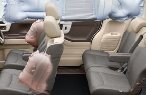 前席用i-サイドエアバッグ+サードカーテンエアバッグ(前席/後席)