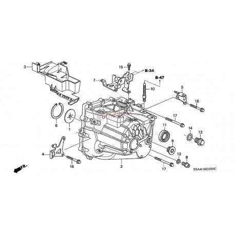 Transmisión (CAJA DE CAMBIOS)|Honda|CR-V|Honda|CR-V|RD4
