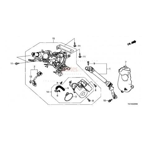 Motor eléctrico Honda Pilot 53281TG7A00 Grupo: Columna de