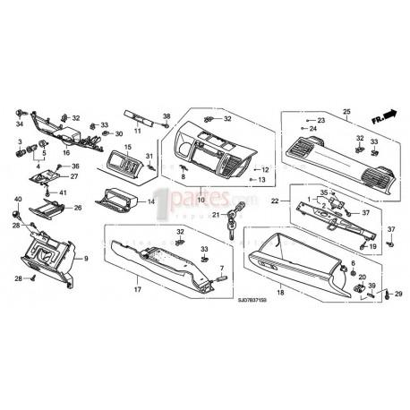 Panel central intermedio Honda FR-V / Edix 77261SJDJ01ZF