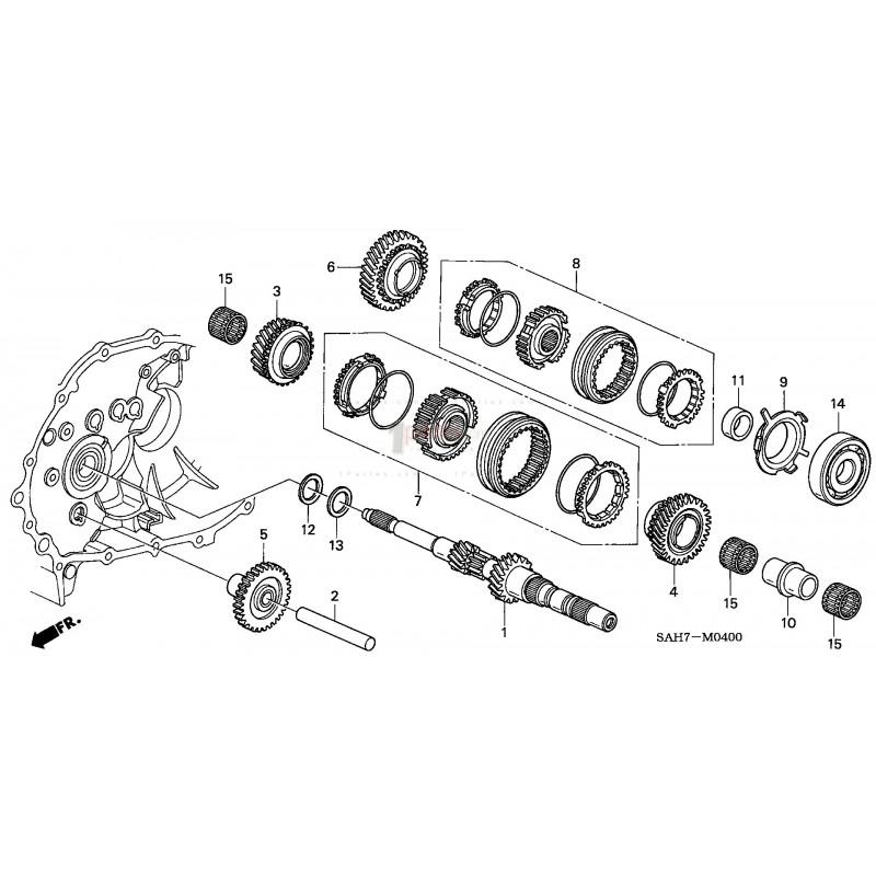 Rodamiento de bolas|Honda|Fit / Jazz|Honda|Fit / Jazz