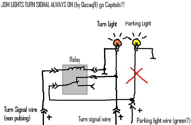 for turn signal wire diagram