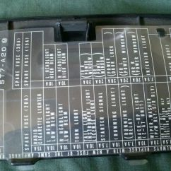 1995 Honda Civic Fuse Diagram Aluminum Element 97 Del Sol Box Get Free Image About