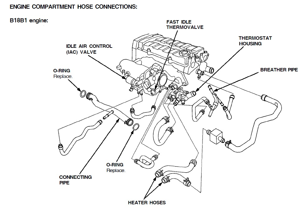 2008 honda civic engine mount diagram