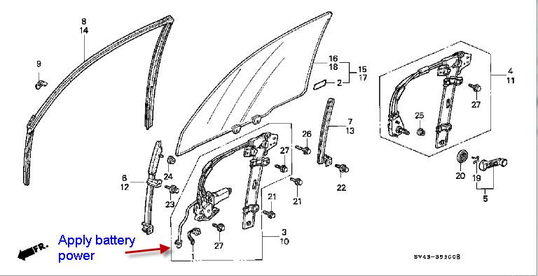1994 honda accord power window wiring diagram