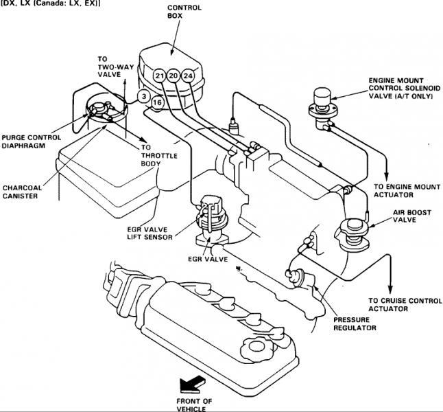 92 Honda Accord Map Sensor Location, 92, Free Engine Image