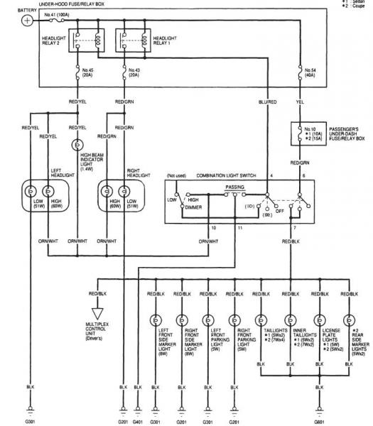 Wiring Diagram Also Honda Accord Radio, Wiring, Free