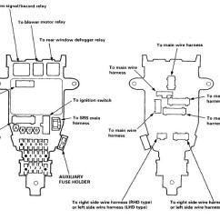 95 Civic Fuse Box Diagram Wiring For Speakers 94-97 Accord - Honda-tech
