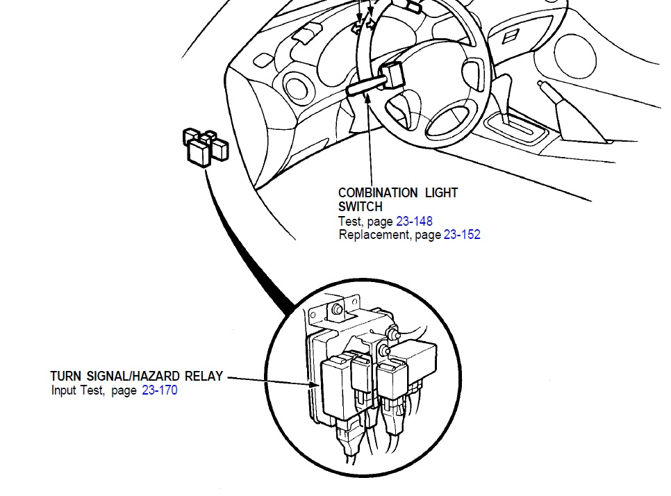Honda Accord Turn Signal Relay Location, Honda, Free