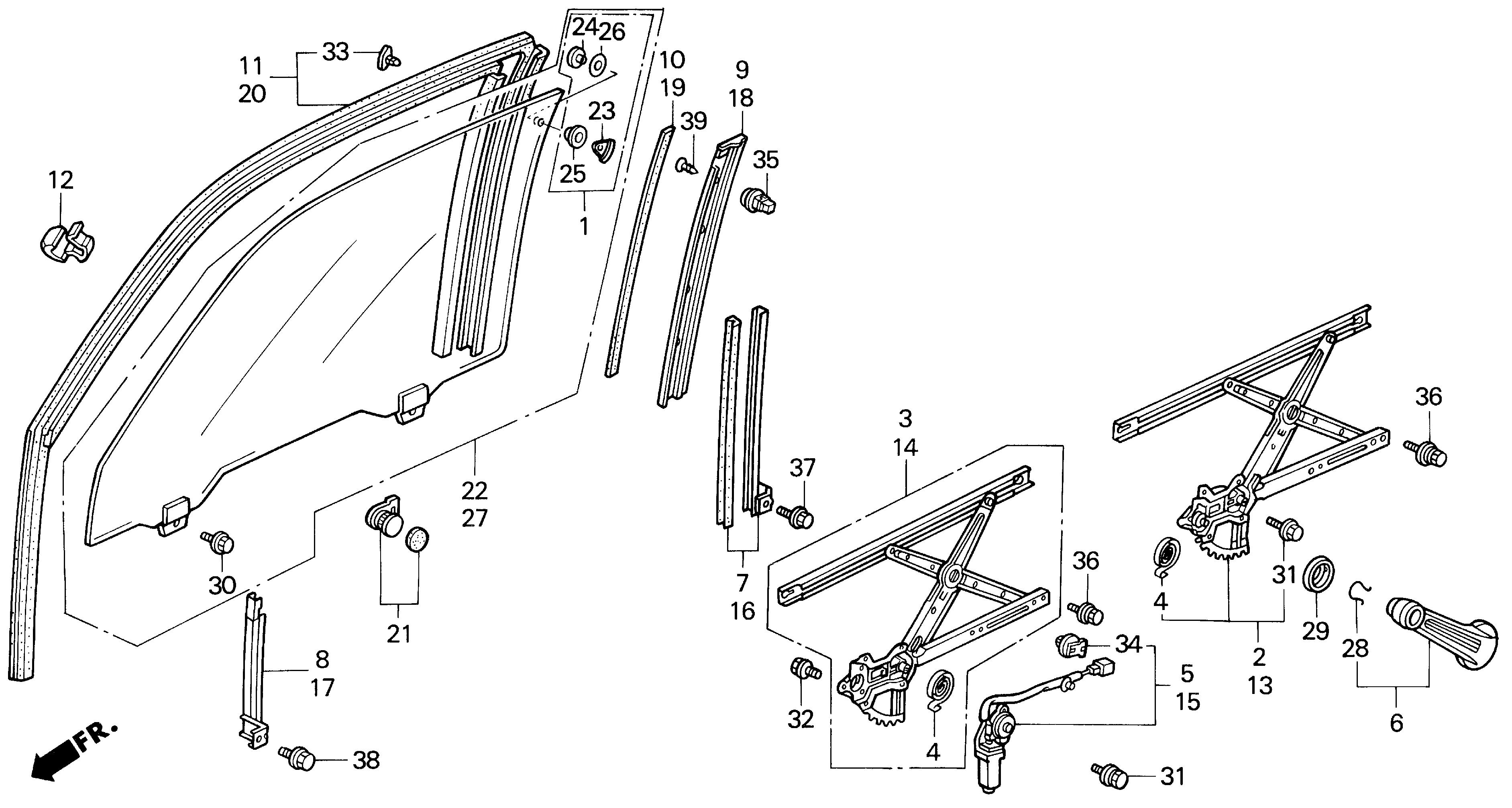 1993 honda accord parts diagram 2000 ford f150 radio wiring 92 window pin thingy pic tech