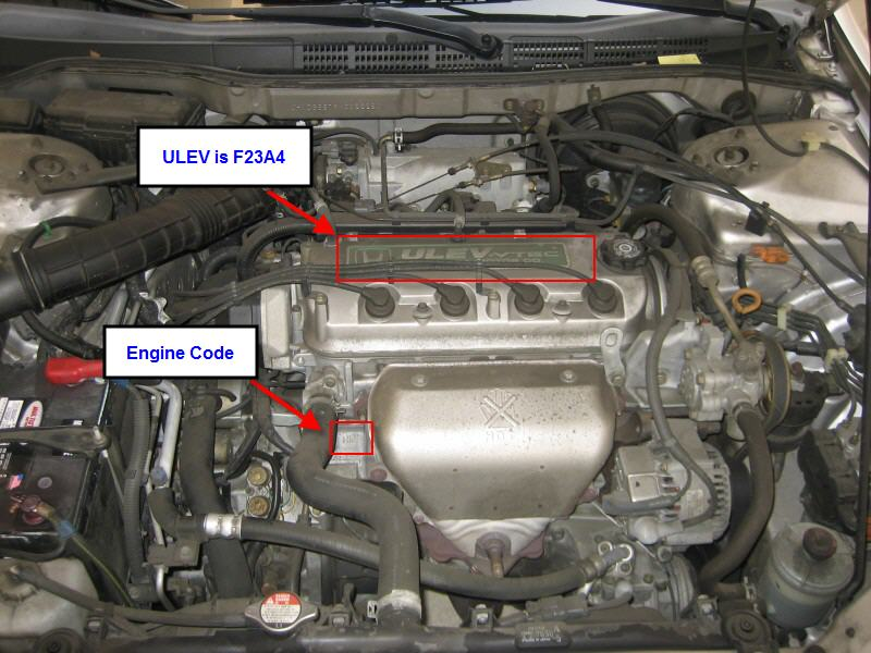 2001 Honda Accord Coupe Engine Diagram