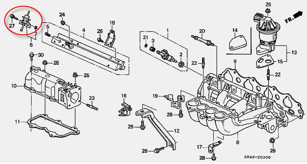 2001 Honda Cr V Oxygen Sensor Location, 2001, Free Engine